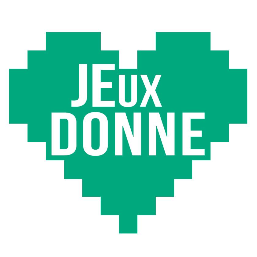JEUX DONNE logo brocante solidaire jeux video