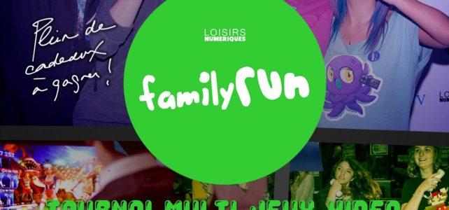 Le FAMILY RUN débarque au E-Sport Stadium pour les Journées Mondiales du Jeu Vidéo