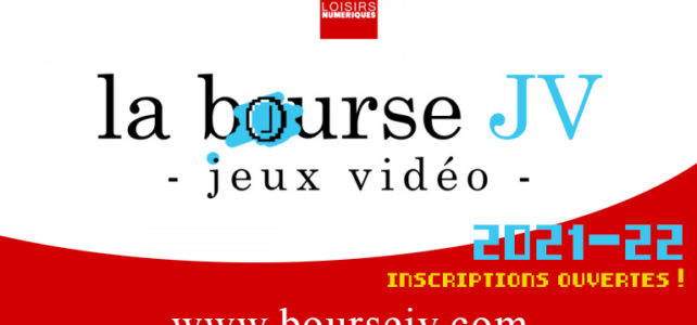 La Bourse du Jeu Vidéo – édition 2021/2022